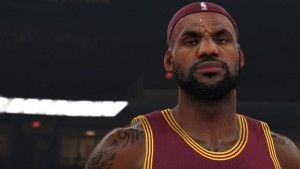 NBA 2K15 Lebron James
